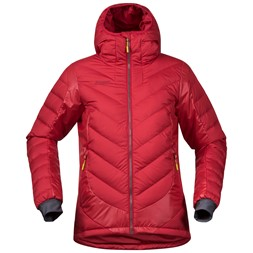Nosi Hybrid Down Lady Jacket Red / Burgundy