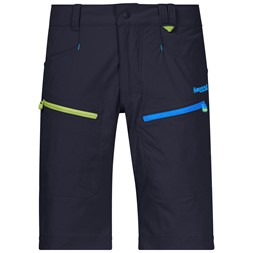 Utne Youth Shorts Dark Navy / Cloud Blue / Sprout Green