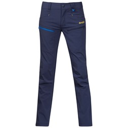 Utne Youth Pants Navy / Athens Blue / Yellowgreen