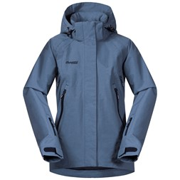 Ervik Insulated Youth Girl Jacket Fogblue / Dark Navy