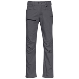 Lilletind Light Softshell Kids Pants Solid Dark Grey / Solid Charcoal