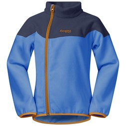 Ruffen Fleece Kids Jacket Athens Blue / Navy / Desert