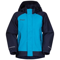 Lilletind Kids Jacket Polar Blue / Navy / Solid Dark Grey