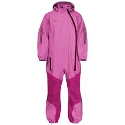 Lilletind Kids Coverall Light Cerise / Cerise / Jam