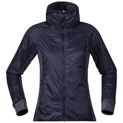 Lom Light Insulated Hybrid W Jacket Dark Navy / Night Blue
