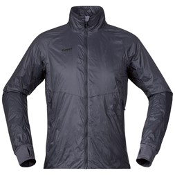 Lom Light Insulated Jacket Solid Charcoal