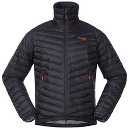 Romsdal Down Jacket Solid Charcoal / Lava / Aluminium
