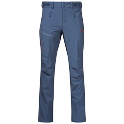 Romsdal Softshell Pants Fogblue / Lava