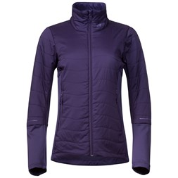Fløyen Light Insulated W Jacket Viola / Light Viola