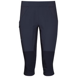 Fløyen 3/4 W Pants Dark Navy / Dark Steel Blue