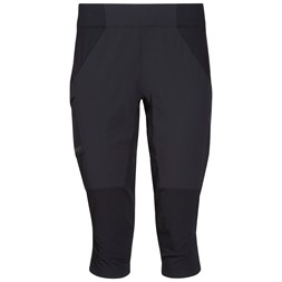 Fløyen 3/4 W Pants Black / Solid Charcoal