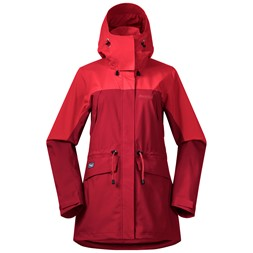 Breheimen 2L W Jacket Red / Fire Red
