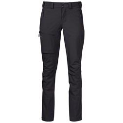 Breheimen Softshell W Pants Solid Charcoal / Solid Dark Grey