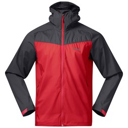 Microlight Jacket Fire Red / Solid Dark Grey