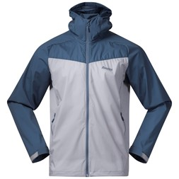 Microlight Jacket Aluminium / Fogblue
