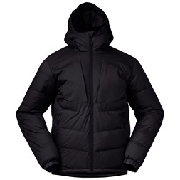 Sauda Down Jacket Solid Charcoal / Black