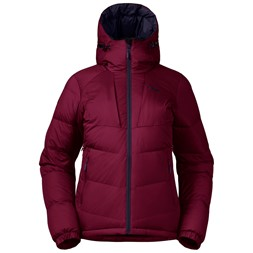 Sauda Down W Jacket Beet Red / Purple Velvet