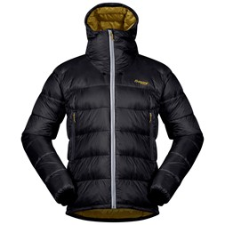 Slingsby Down Jacket Solid Dark Grey / Waxed Yellow / Silver Grey