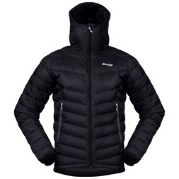Slingsby Down Light Jacket w/Hood Black / Solid Dark Grey