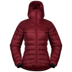 Slingsby Down Light W Jacket with Hood Bordeaux