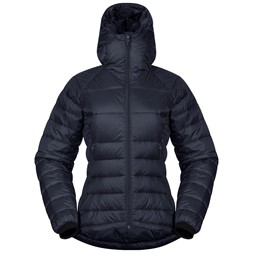 Slingsby Down Light W Jacket with Hood Dark Fogblue