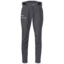 Slingsby LT Softshell W Pants Solid Dark Grey / White