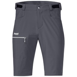 Slingsby LT Softshell Shorts Solid Dark Grey / White