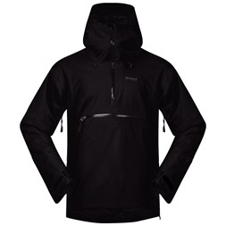 Stranda Insulated Hybrid Anorak Black / Solid Charcoal