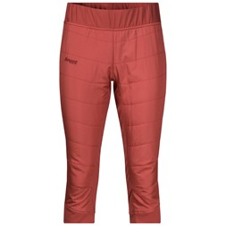 Stranda Hybrid W 3/4 Pants Lounge / Bordeaux