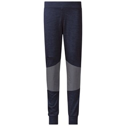 Myske Wool Kids Pants Navy Melange / Solid Dark Grey