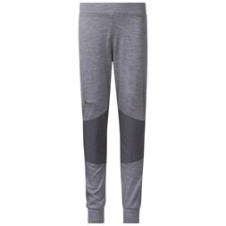 Myske Wool Kids Pants Solid Grey Melange / Solid Dark Grey