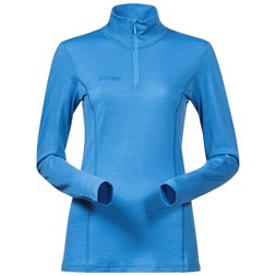 Soleie Lady Half Zip Light Winter Sky